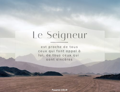 Psaumes 145:18